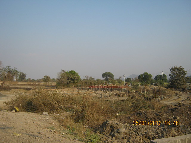 The site of Kasturi Housing's EON Homes, next to TechMahindra, Hinjewadi Phase 3