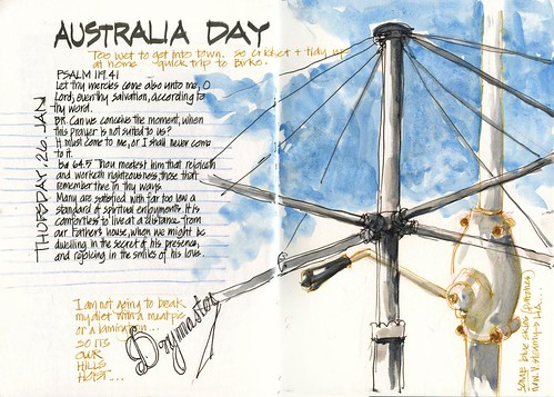 120126 Australia Day- Our hills hoist by borromini bear