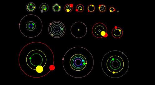 11 sistemas descubiertos por Kepler