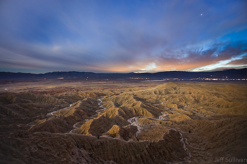 Borrego Badlands at Night