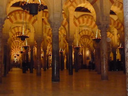 Cordoba Mezquita Innenansicht