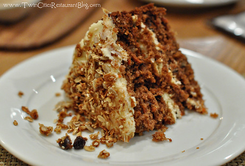 Carrot Cake at Good Earth ~ Roseville, MN