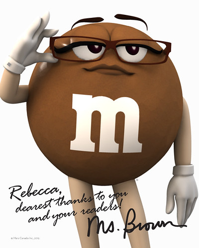 M&Ms Ms. Brown