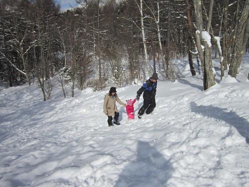 雪のスロープで遊ぶ 2012年1月28日13:48 by Poran111