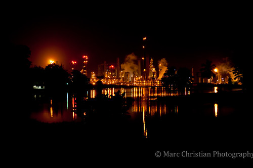Petrotrin oil refinery