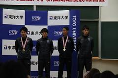 朝霞キャンパス登壇選手と主務