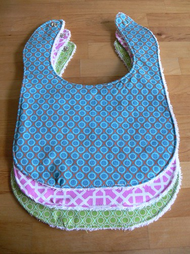 Jenny: More Bibs and Burp Cloths
