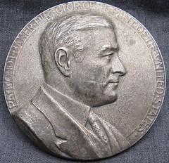 Baker medal obverse