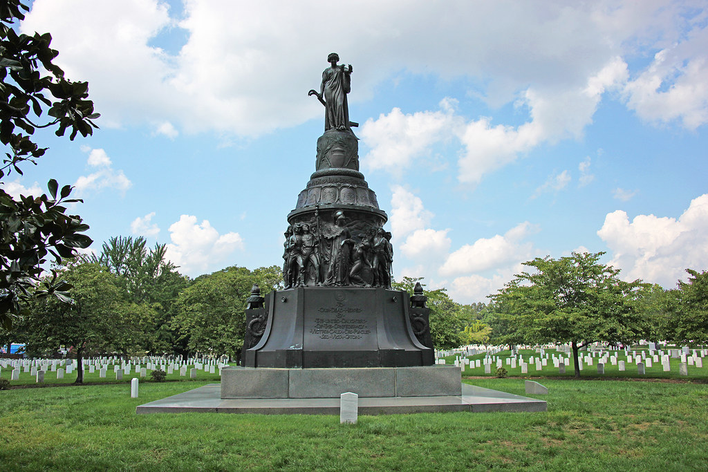 Confederate Monument - S face - Arlington National Cemetery - 2011