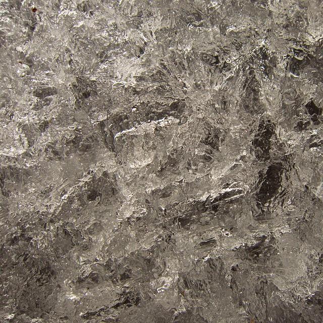 Ice on the Pecoy Notch Trail, Catskills