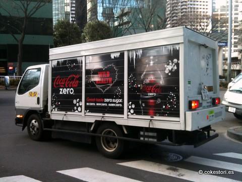 Coke Zero Truck in Shinjuku, Tokyo, Japan by cokestories
