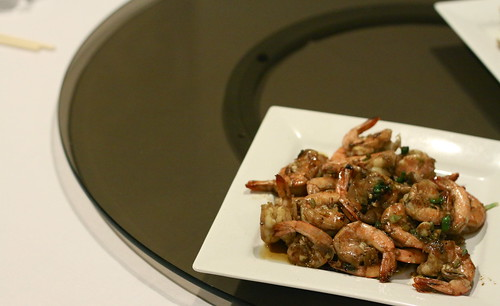 Chinese New Year Dinner - Dry Garlic Shrimp