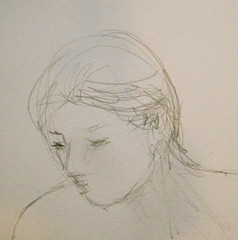 Detail, Drawing from Drawing Group Session on Feb. 1, 2012 by randubnick