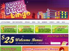 South Beach Bingo Lobby