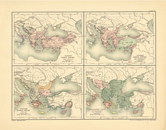 Map Page Of Section Lxxiii The Eastern Roman Empire From T Flickr