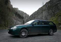 Bring Back an Oldie - 3 Feb 2012 - Ford Mondeo ST24 Estate at Cheddar Gorge