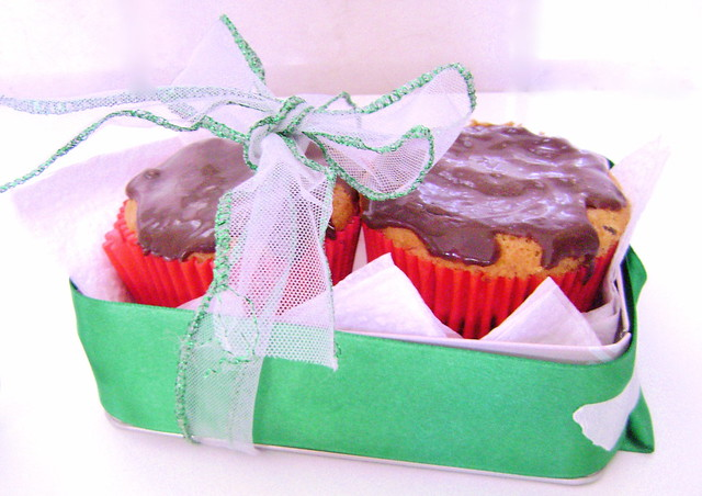 cupcake formigueiro com ganashe