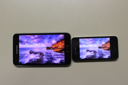 IPS-LCD vs SUPER-AMOLED-HD