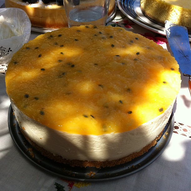 Sun Sparkle cheesecake