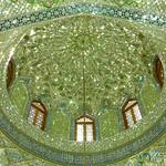 Inside Aramgah-e Shah-e Cheragh Mausoleum - Shiraz, Iran