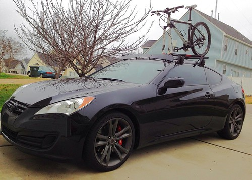 Yakima Roof Rack Installed Page 3 Hyundai Genesis Forum