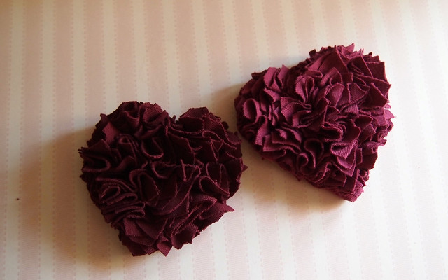Ruffled Hearts