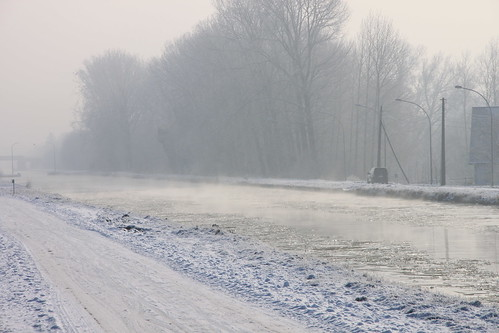 Winter in Belgium