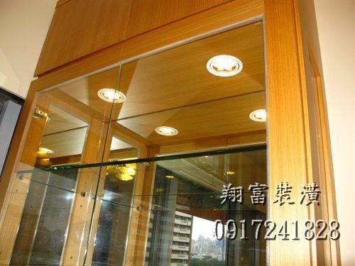 3 展示櫃LED投射燈