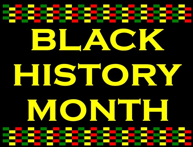 Black History Month   Free printable sign for Black History …   By ...