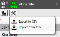 Import / Export Customer Information in OneDesk