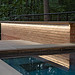 The B. garden in suburban MD with lighting designed by Outdoor Illumination