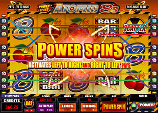 Atomic 8s Bonus Game