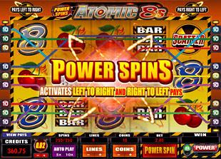 Atomic 8s Bonus Game