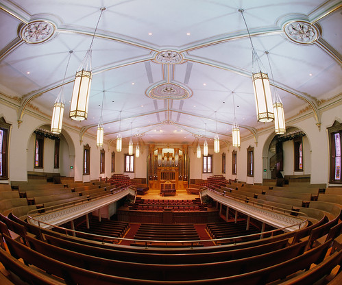 Assembly Hall Interior on Temple Square