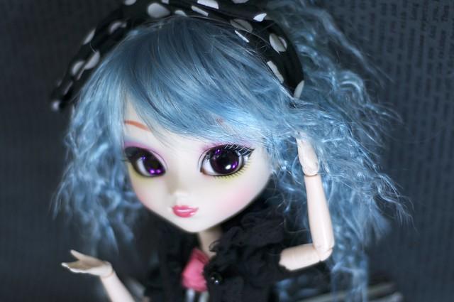 Luna's new wig