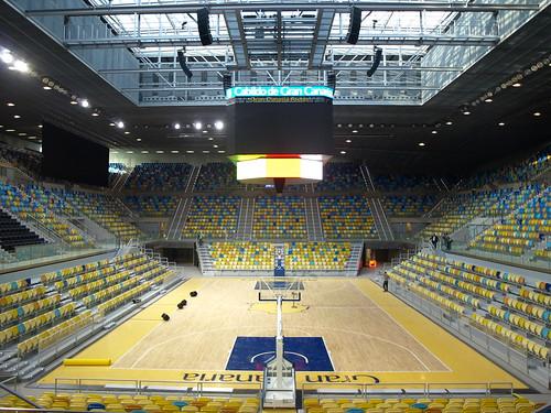Inaugurado el Gran Canaria Arena, sede del mundial de baloncesto de 2014