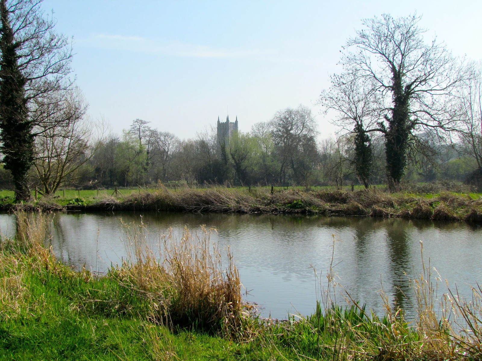 photo from walk Stour water meadows & Dedham Church