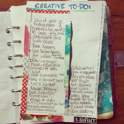 No time to be bored!! :) #creativitychallenge14