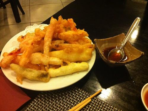 Alicante | Ming Cocina Asiática | Tempura mixta