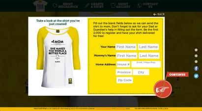 "NIDO FORTIFIED® ""Wear Your Love"" Website"