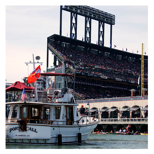 Opening Day from McCovey Cove