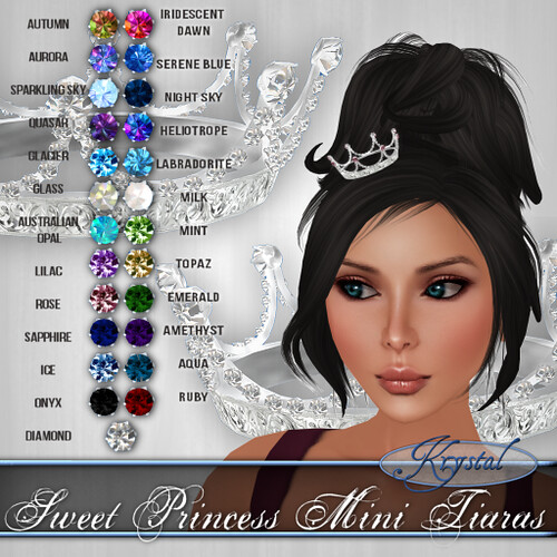 Sweet Princess Mini Tiaras