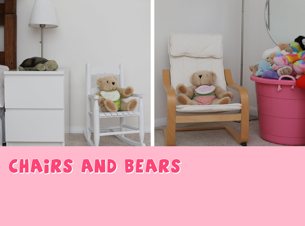 chairs and bears