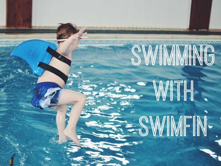 Swimming swimfin