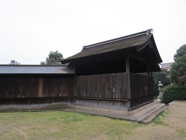 Nunakuma Shrine - Noh Stage