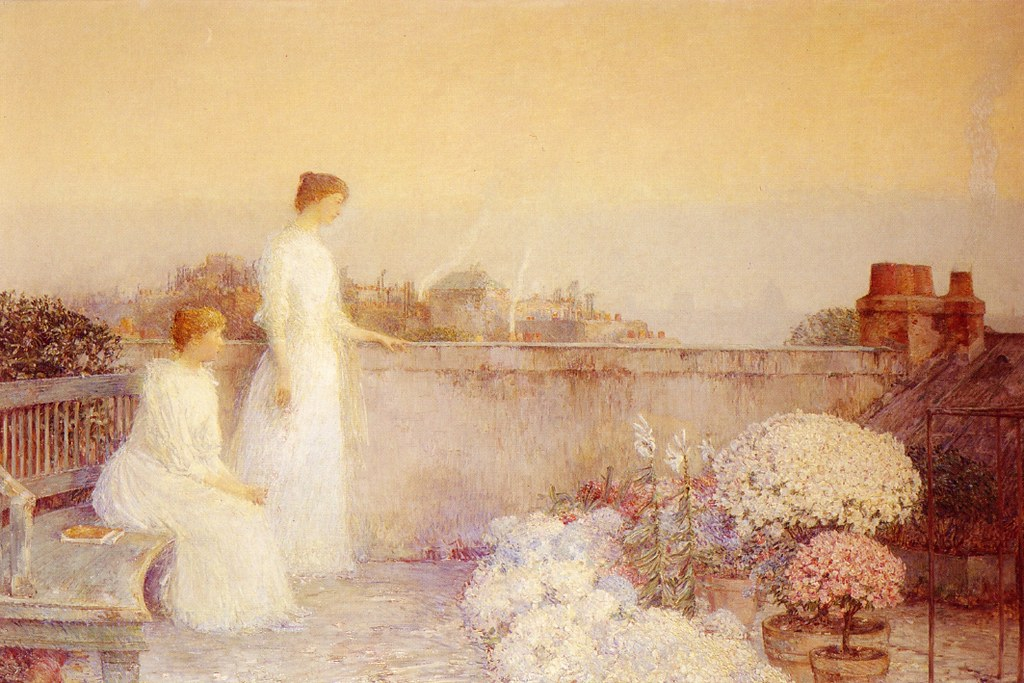 Twilight by Frederick Childe Hassam - circa 1888