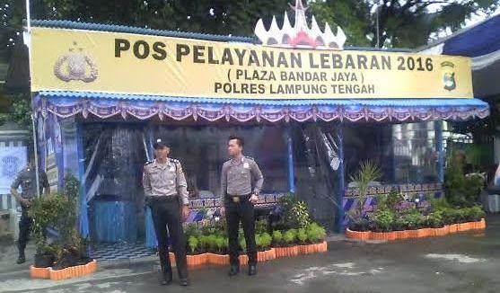 Pos Pelayanan Lebaran di Jalinteng (Adin, 1 Juli)