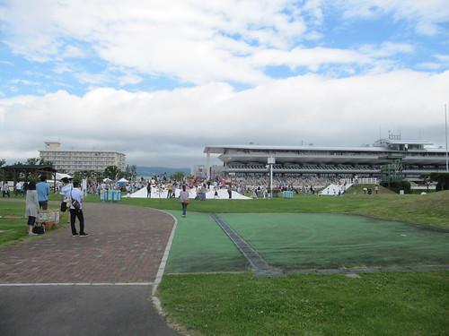 函館競馬場の内馬場公園