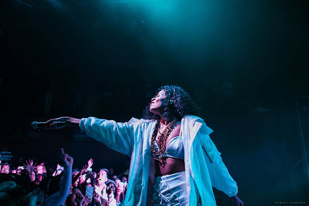 AlunaGeorge @ Scala, London 21/06/16