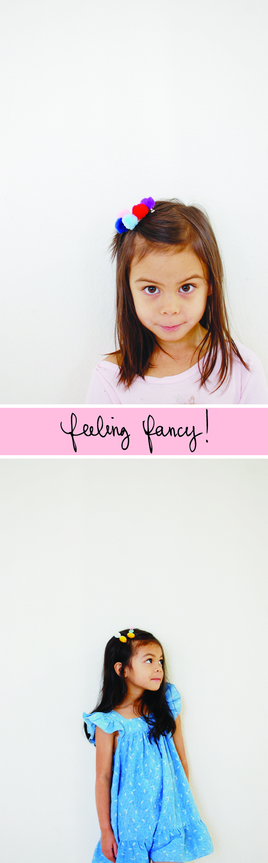 diy: fanciful barrettes